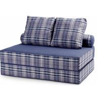 Бескаркасный диван футон Fargus Blue