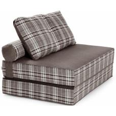 Бескаркасный диван футон Fargus Gray