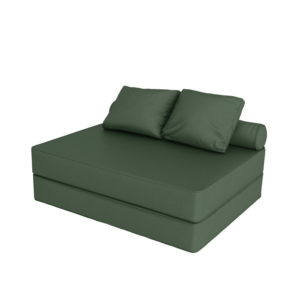 Бескаркасный диван футон Fargus ECO GREEN