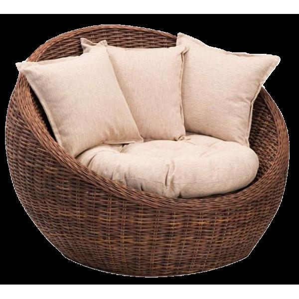 Необычная мебель из ротанга