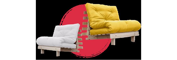 Кресло-кровать с футоном BERENIS