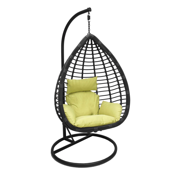 Подвесные кресла с футоном из ротанга