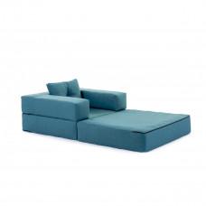 Кресло футон DOMINO бирюзовый