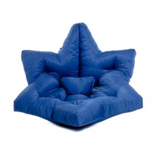 Кресло футон Звезда синее