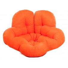Кресло футон ЦВЕТОК оранжевый