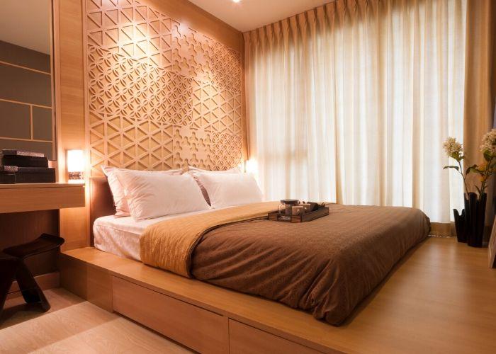 Японская кровать-подиум