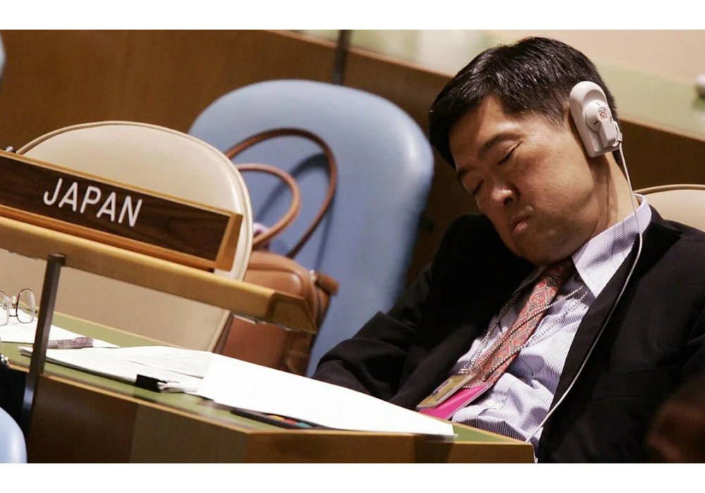 Инэмури - японская культура сна на работе