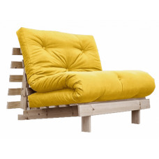 Кресло-кровать с футоном BERENIS YELLOW