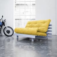 Диван-кровать с футоном BERENIS YELLOW