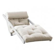 Кресло-кровать с футоном SAVAREN WHITE