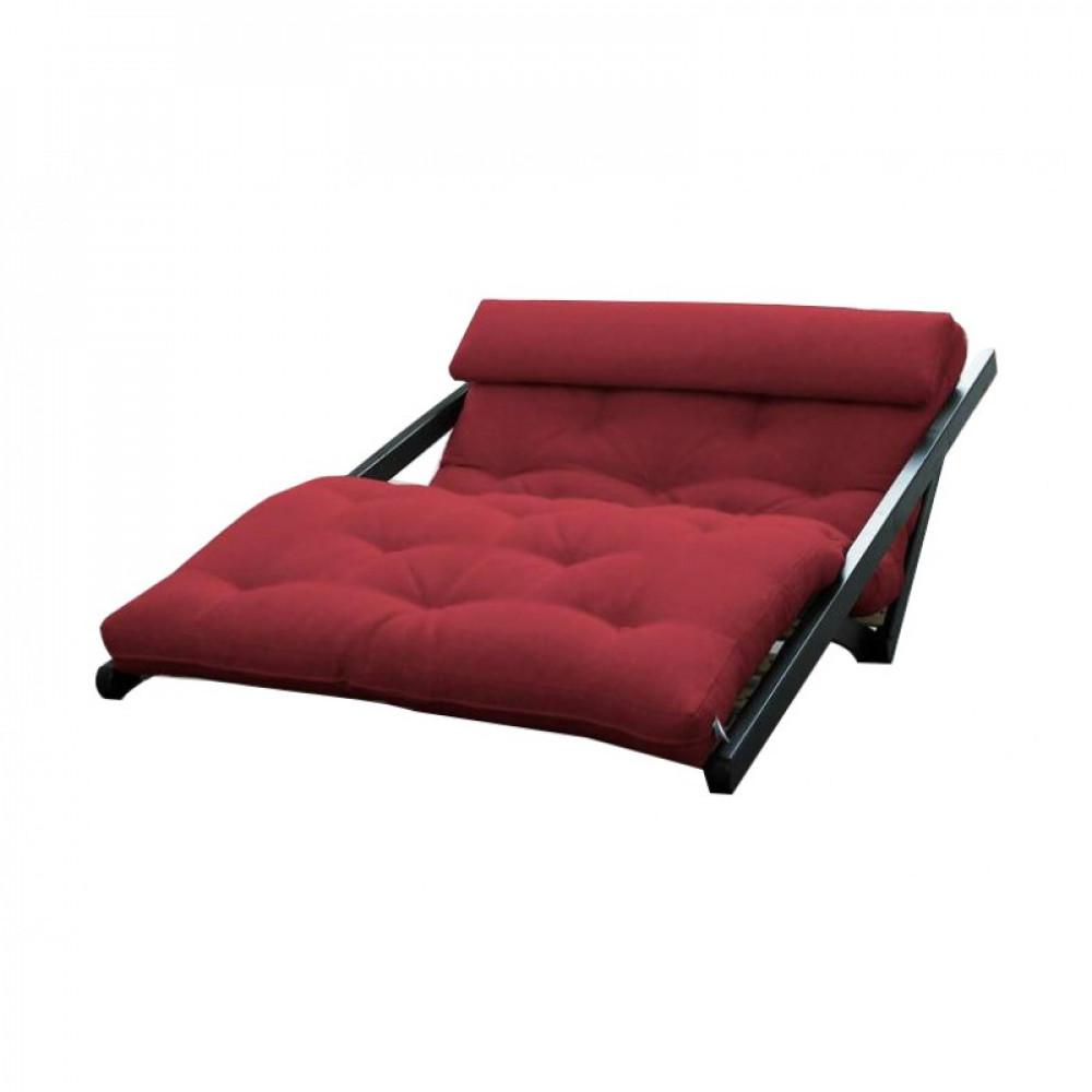 Диван-кровать с футоном SAVAREN RED