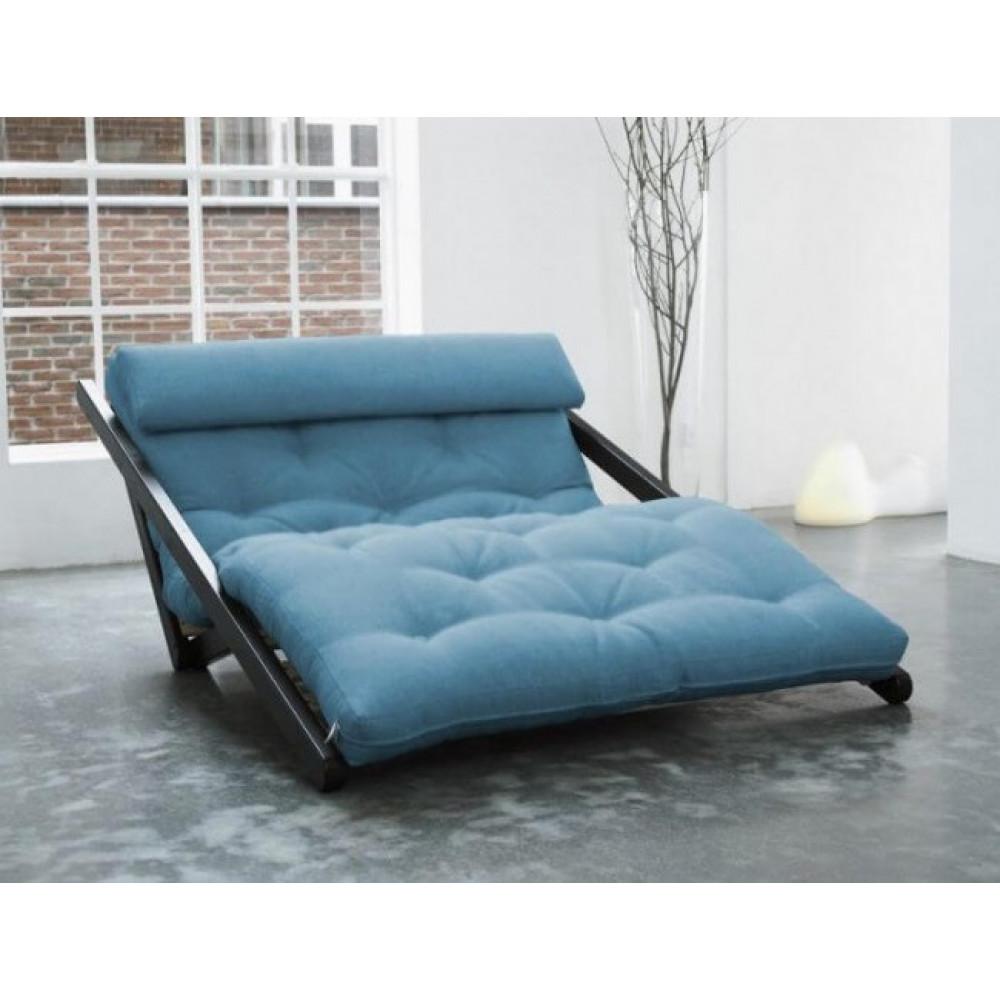 Диван-кровать с футоном SAVAREN BLUE