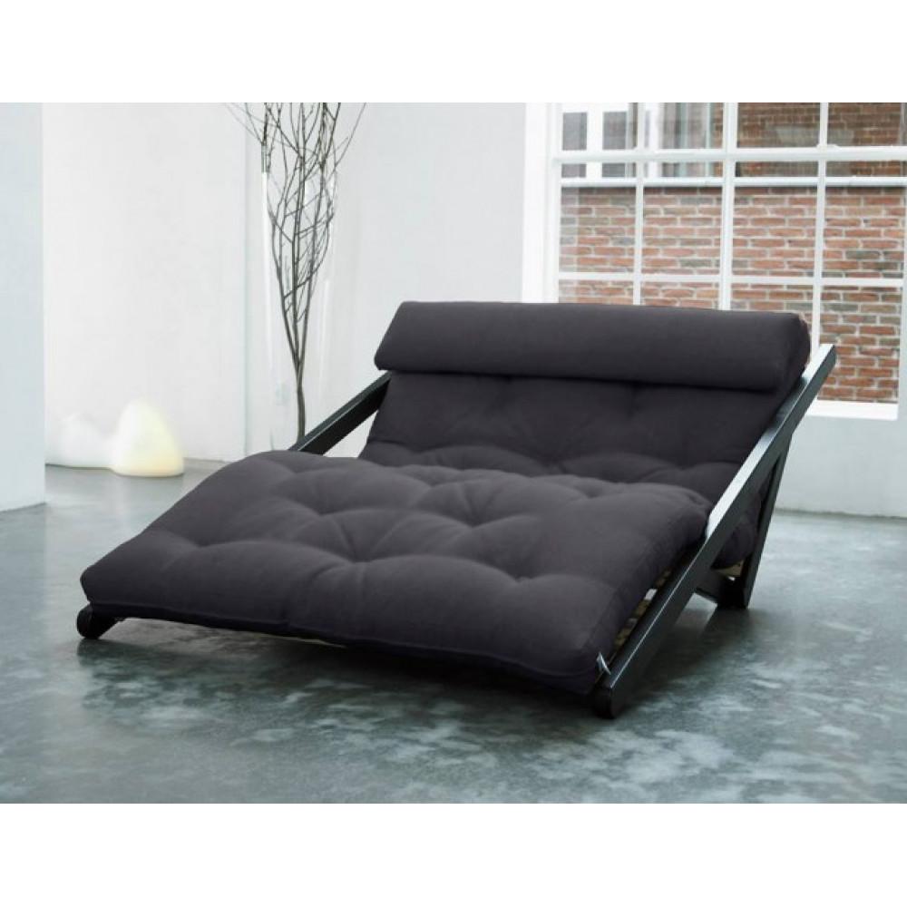 Диван-кровать с футоном SAVAREN BLACK
