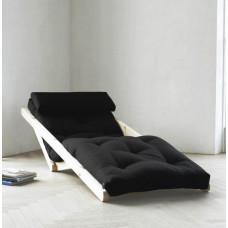 Кресло-кровать с футоном SAVAREN BLACK