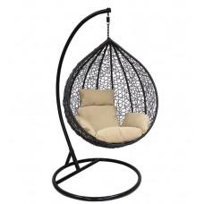 Подвесное кресло Altar бежевый+коричневый