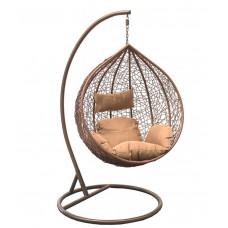 Подвесное кресло Altar золотой+коричневый