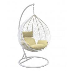 Подвесное кресло Altar бежевый+белый