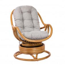 Кресло-качалка Kara с футоном мед