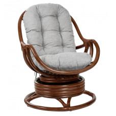 Кресло-качалка Kara с футоном коньяк