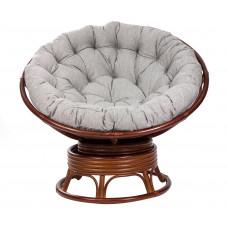 Круглое кресло-качалка PAPASUN SWIVEL ROCKER коньяк