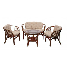 Набор мебели из ротанга Bahama коньяк