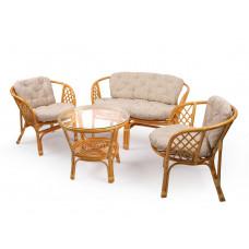 Набор мебели из ротанга Bahama мед