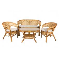 Набор мебели из ротанга Pelangi мед