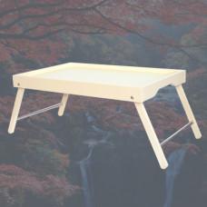 Чайный столик складной Селена Слоновая кость