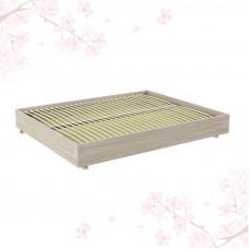 Японская кровать TALLY LIGHT BROWN без спинки